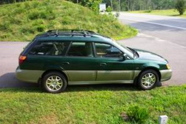 Product picture Subaru Legacy Outback 2002 Service Manual