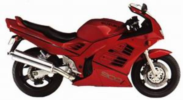 Product picture Suzuki RF900R Service Manual